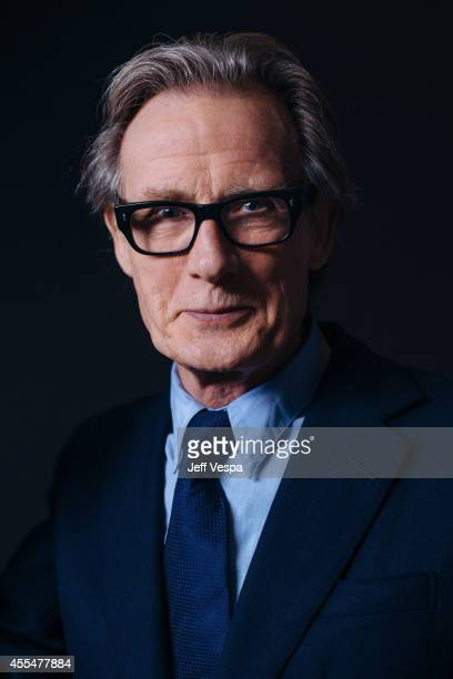 Actor Bill Nighy is photographed for a Portrait Session at the 2014 Toronto Film Festival on September 4 2014 in Toronto Ontario