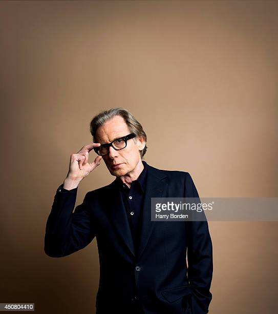 Actor Bill Nighy is photographed for the Spectator on February 17 2014 in London England