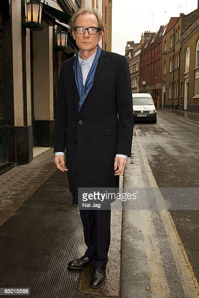 Actor Bill Nighy sighting in Covent Garden on February 24 2009 in London England