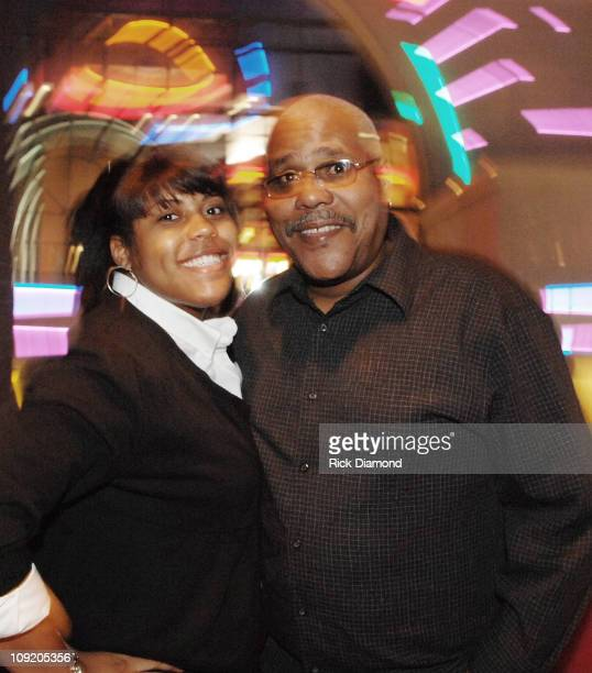 Actor Bill Nunn and daughter Cydney Nunn at the after party for Randy and The Mob, Held at STRIP, in Atlantic Station, Atlanta, Georgia on September...