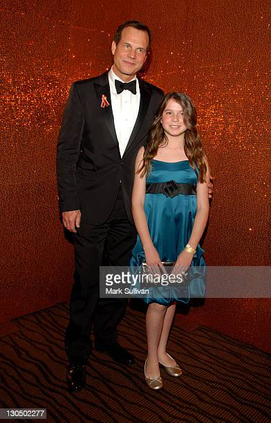 Actor Bill Paxton and daughter Lydia attend HBO's Post 67th Annual Golden Globes party at Circa 55 Restaurant on January 17 2010 in Beverly Hills...