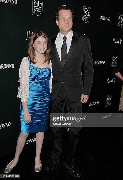 Actor Bill Paxton and daughter Lydia Paxton arrive at the 13th Annual Costume Designers Guild Awards with presenting sponsor Lacoste held at The...