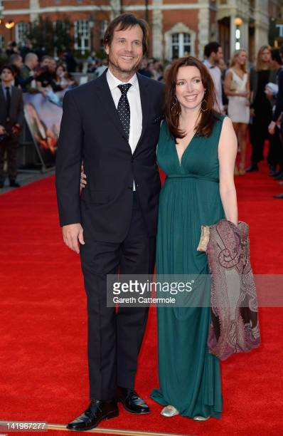 Actor Bill Paxton and Louise Newbury attend the 'Titanic 3D' World Premeire at the Royal Albert Hall on March 27 2012 in London England