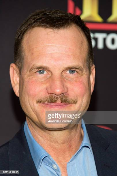 Actor Bill Paxton arrives at the History Channel Pre-Emmy Party at Soho House on September 22, 2012 in West Hollywood, California.