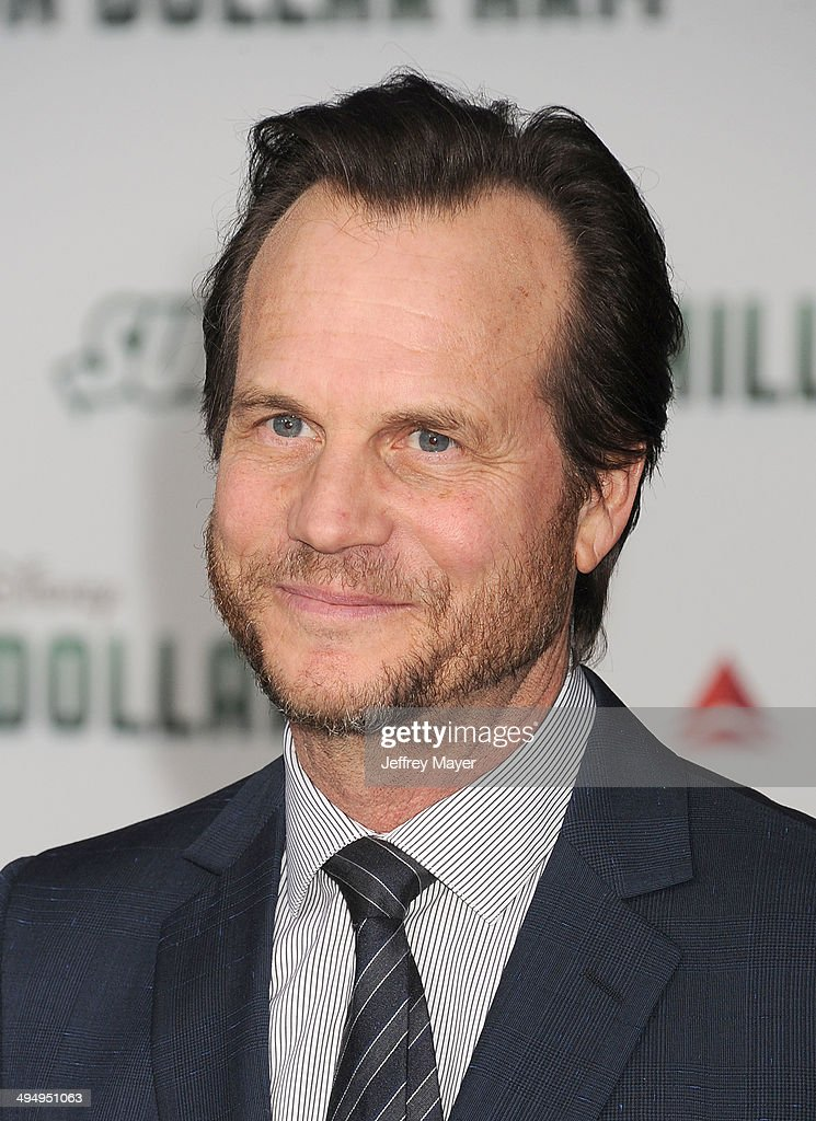 Actor Bill Paxton arrives at the Los Angeles premiere of 'Million Dollar Arm' at the El Capitan Theatre on May 6, 2014 in Hollywood, California.