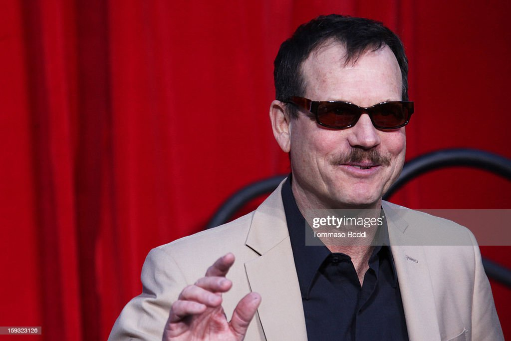Actor Bill Paxton attends a press conference announcing the renaming of Grauman's Chinese Theatre to the TCL Chinese Theatre held at the Chinese Theatre on January 11, 2013 in Hollywood, California.