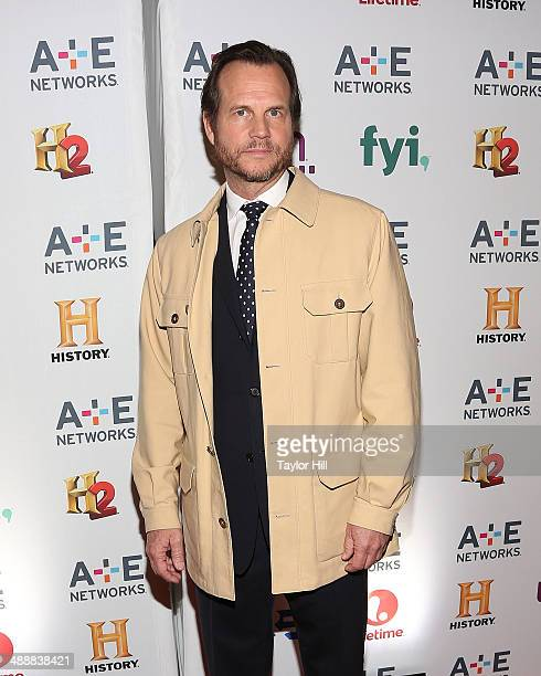 Actor Bill Paxton attends the 2014 A+E Networks Upfronts at Park Avenue Armory on May 8, 2014 in New York City.