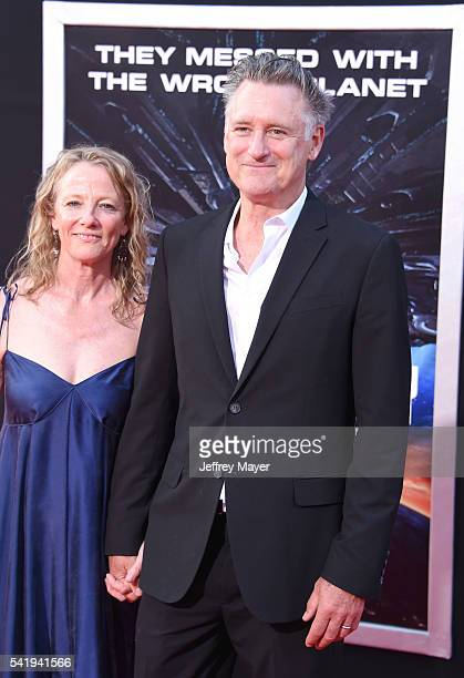 Actor Bill Pullman and wife/actress Tamara Hurwitz arrive at the premiere of 20th Century Fox's 'Independence Day Resurgence' at TCL Chinese Theatre...