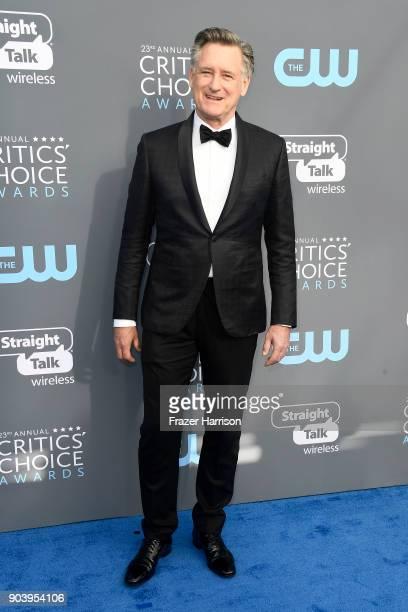 Actor Bill Pullman attends The 23rd Annual Critics' Choice Awards at Barker Hangar on January 11 2018 in Santa Monica California