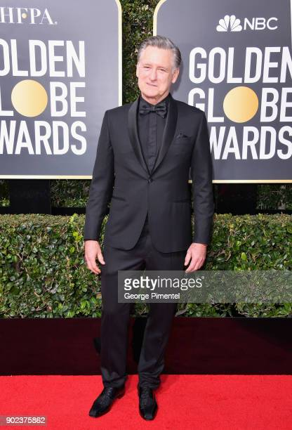 Actor Bill Pullman attends The 75th Annual Golden Globe Awards at The Beverly Hilton Hotel on January 7 2018 in Beverly Hills California