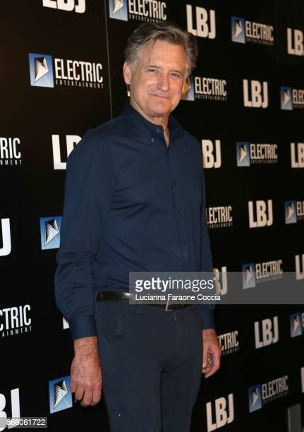 Actor Bill Pullman attends the premiere of Electric Entertainment's LBJ at ArcLight Hollywood on October 24 2017 in Hollywood California