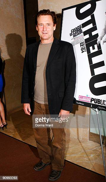 Actor Bill Pullman attends the The Public Theater and Labyrinth Theater's production of Othello opening night at the Jack H Skirball Center for the...