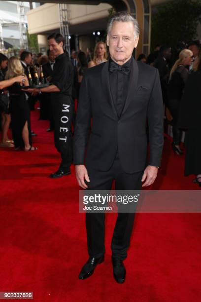 Actor Bill Pullman celebrates The 75th Annual Golden Globe Awards with Moet Chandon at The Beverly Hilton Hotel on January 7 2018 in Beverly Hills...
