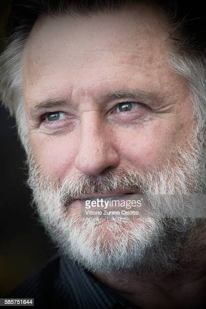 Actor Bill Pullman poses during the 69th Locarno Film Festival on August 3 2016 in Locarno Switzerland