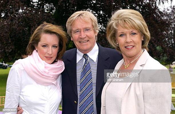Actor Bill Roache His Wife And His Daughter Verity Who Is Studying History Of Art At St Andrews University In Scotland They Are Attending The...