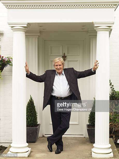 Actor Bill Roache poses for a portrait shoot at his home in Wilmslow on July 12 2010