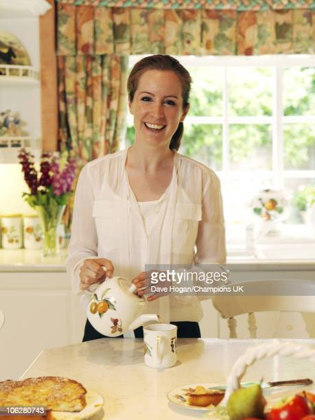 Actor Bill Roache's daughter Verity poses for a portrait shoot at the actor's home in Wilmslow on July 12 2010