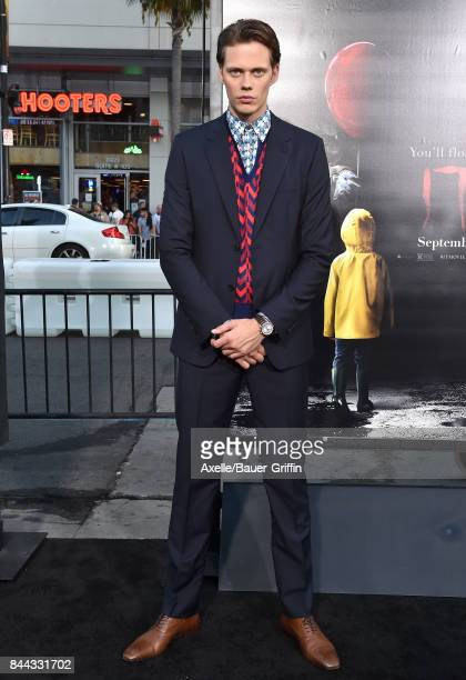 Actor Bill Skarsgard arrives at the premiere of 'It' at TCL Chinese Theatre on September 5 2017 in Hollywood California