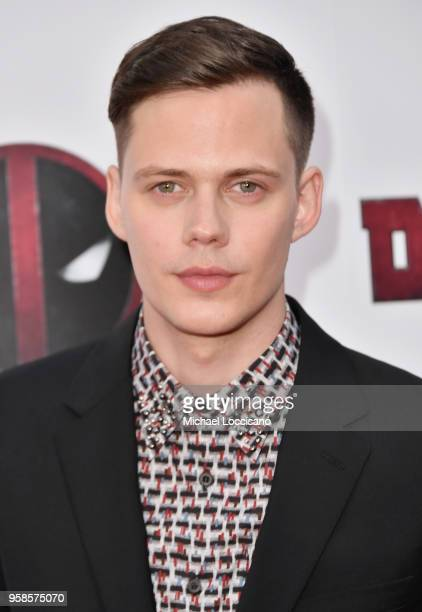 Actor Bill Skarsgard attends the 'Deadpool 2' screening at AMC Loews Lincoln Square on May 14 2018 in New York City