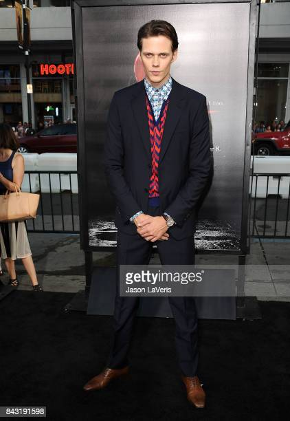 Actor Bill Skarsgard attends the premiere of 'It' at TCL Chinese Theatre on September 5 2017 in Hollywood California