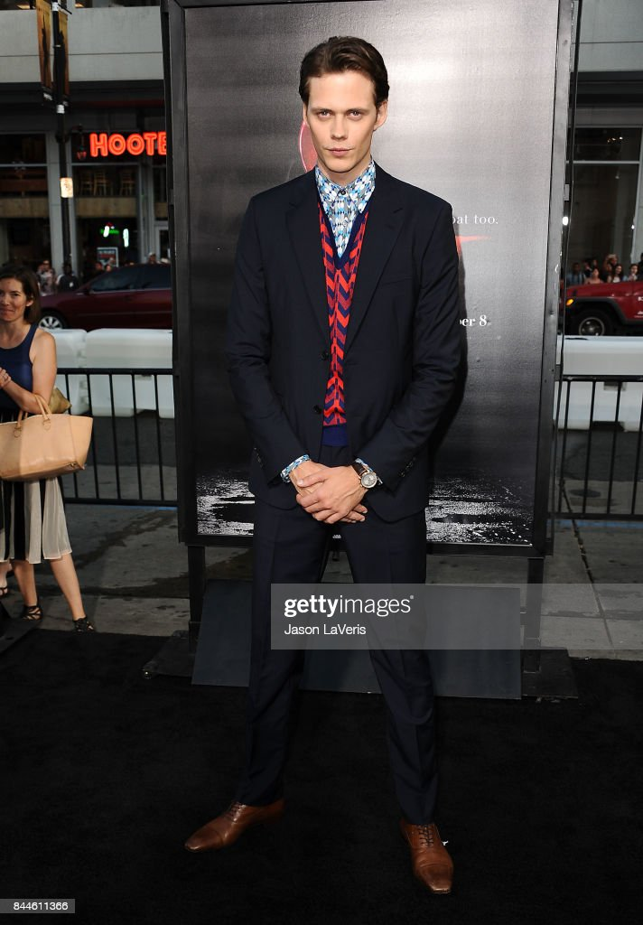 Actor Bill Skarsgard attends the premiere of 'It' at TCL Chinese Theatre on September 5, 2017 in Hollywood, California.