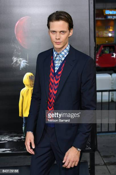 Actor Bill Skarsgard attends the premiere of Warner Bros Pictures and New Line Cinema's It at the TCL Chinese Theatre on September 5 2017 in...