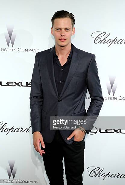 Actor Bill Skarsgard attends The Weinstein Company Party in Cannes hosted by Lexus and Chopard at Baoli Beach on May 19 2013 in Cannes France