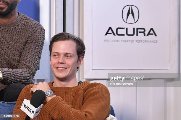 Actor Bill Skarsgard of 'Assassination Nation' attends the Acura Studio at Sundance Film Festival 2018 on January 22 2018 in Park City Utah