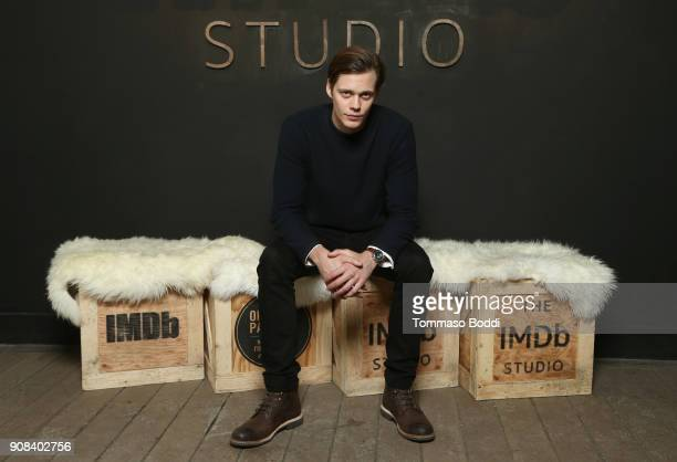 Actor Bill Skarsgard of 'Assassination Nation' attends The IMDb Studio and The IMDb Show on Location at The Sundance Film Festival on January 21 2018...