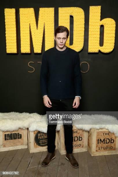 Actor Bill Skarsgard of 'Assassination Nation' attends The IMDb Studio and The IMDb Show on Location at The Sundance Film Festival on January 21 2018...