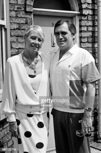 Actor Bill Tarmey is welcomed back to Granada TV's 'Coronation Street' by his ever loving screen wife Liz Dawn Bill has been absent from the soap for...