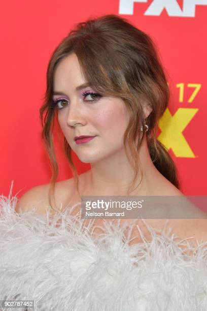 Actor Billie Lourd attends the premiere of FX's 'The Assassination Of Gianni Versace American Crime Story' at ArcLight Hollywood on January 8 2018 in...