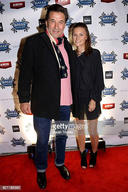 Actor Billy Baldwin and Rally for Kids with Cancer fundraiser Eloise McIntosh arrive at the 9th annual Rally For Kids With Cancer Scavenger Cup...