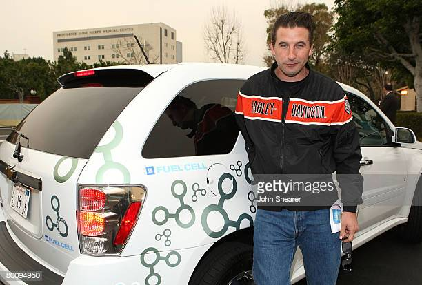 Actor Billy Baldwin arrives at Chevy Rocks The Future at the Buena Vista Lot at The Walt Disney Studios on February 19 2008 in Burbank California