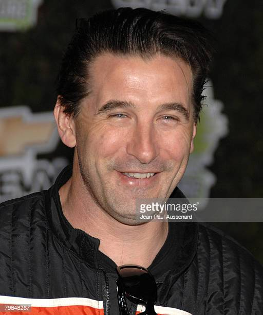Actor Billy Baldwin arrives at Chevy Rocks the Future held at the Walt Disney Studios on February19 2008 in Burbank California