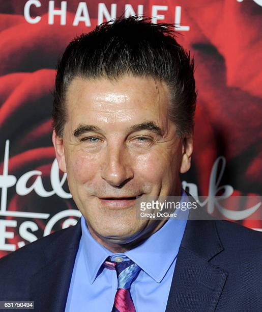Actor Billy Baldwin arrives at Hallmark Channel And Hallmark Movies And Mysteries Winter 2017 TCA Press Tour at The Tournament House on January 14...