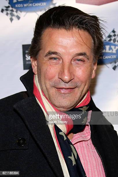 Actor Billy Baldwin arrives at the 9th annual Rally For Kids With Cancer Scavenger Cup Qualifiers Celebrity Draft Party at Cactus Club Cafe on...