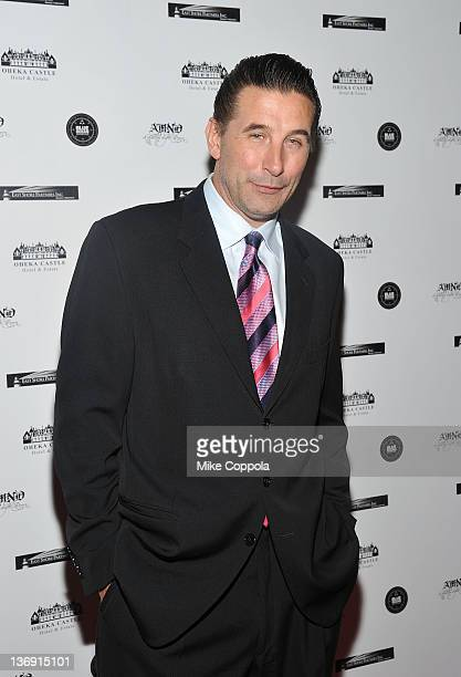 Actor Billy Baldwin attends the 2012 A Midwinter Night's Dream Gala at Oheka Castle on January 12 2012 in Huntington New York