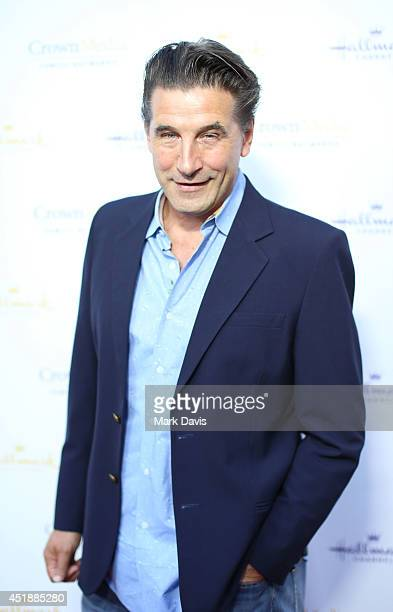 Actor Billy Baldwin attends the Hallmark Channel Hallmark Movie Channel's 2014 Summer TCA Party on July 8 2014 in Beverly Hills California
