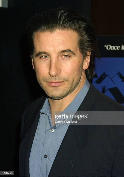 Actor Billy Baldwin attends the screening of the film In The Bedroom January 14 2002 at the Bryant Park Hotel Screening Room in New York City