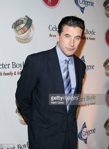 Actor Billy Baldwin poses at the Comedy to Benefit The IMF's Peter Boyle Fund held at the Wilshire Ebell Theater and Club on November 10 2007 in Los...