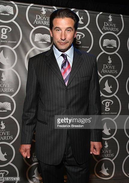 Actor Billy Baldwin poses in the press room at the 40th Annual GMA Dove Awards held at the Grand Ole Opry House on April 23, 2009 in Nashville,...