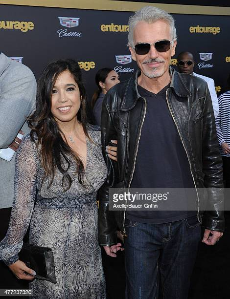 Actor Billy Bob Thornton and Connie Angland arrive at the Los Angeles premiere of 'Entourage' at Regency Village Theatre on June 1 2015 in Westwood...