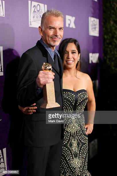 Actor Billy Bob Thornton and Connie Angland attend The 72nd Annual Golden Globe Awards at The Beverly Hilton on January 11 2015 in Beverly Hills...