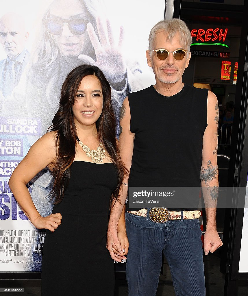 Actor Billy Bob Thornton (R) and wife Connie Angland attend the premiere of 'Our Brand Is Crisis' at TCL Chinese Theatre on October 26, 2015 in Hollywood, California.