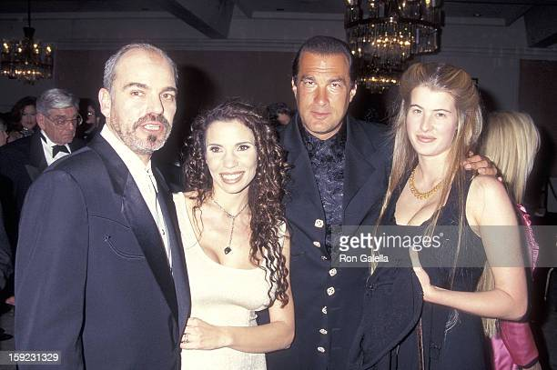 Actor Billy Bob Thornton and wife Pietra actor Steven Seagal and girlfriend Arissa Wolf attend the St Jude Children's Research Hospital's 35th...