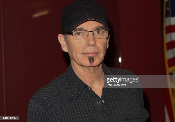 """Actor Billy Bob Thornton signs his new book """"The Billy Bob Tapes: A Cave Full Of Ghosts"""" at the Egyptian Theatre on July 13, 2012 in Hollywood,..."""