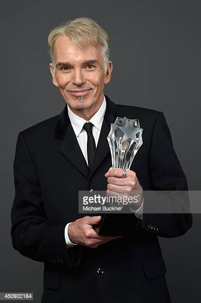 Actor Billy Bob Thornton winner of the Best Actor in a Movie or MiniSeries award for 'Fargo' poses for a portrait during the 4th Annual Critics'...