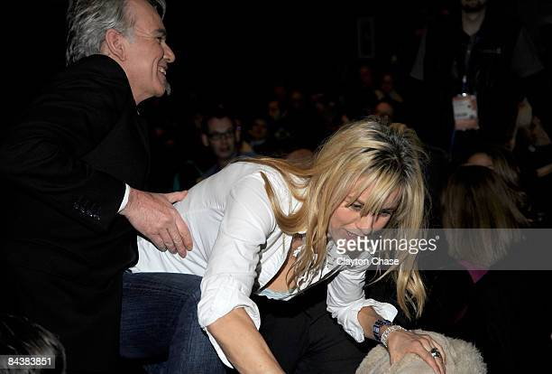 Actor Billy Bob Thorton and actress Tea Leoni attend the premiere of 'Manure' during the 2009 Sundance Film Festival at Eccles Theatre on January 20...
