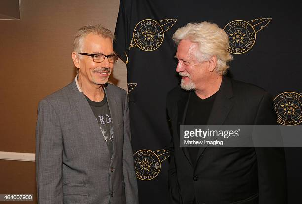 Actor Billy Bob Thorton and Bruce Davidson pose backstage at the 52nd Annual ICG Publicists Awards at The Beverly Hilton Hotel on February 20 2015 in...